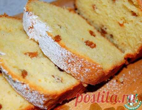 """Творожный кекс """"Изюминка"""" в духовке – кулинарный рецепт"""