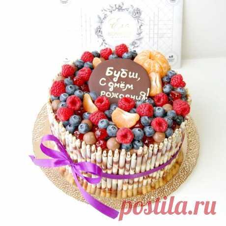 Красивые торты на день рождения 100 фото креативного дизайна