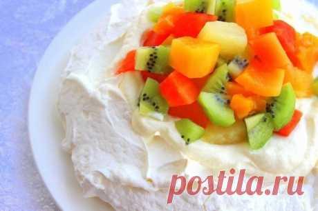 """Торт """"Павлова"""" — Sloosh – кулинарные рецепты"""
