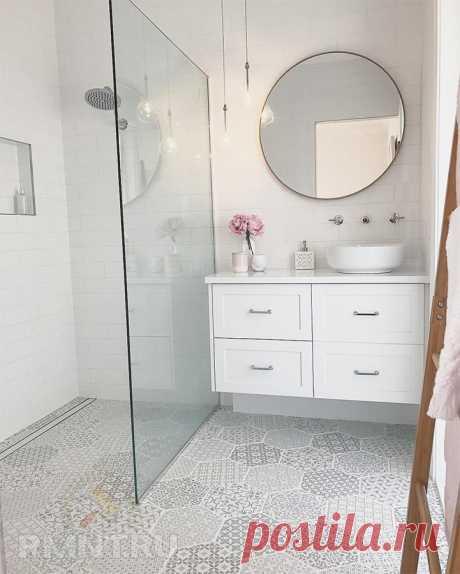 Как сделать маленькую ванную комнату визуально больше — Rmnt.ru