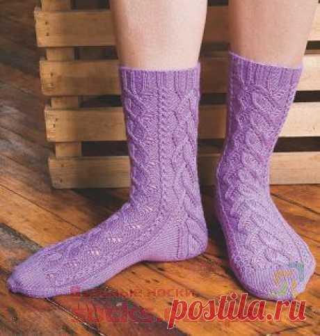 Вязаные носки «Marilinda» | ВЯЗАНЫЕ НОСКИ