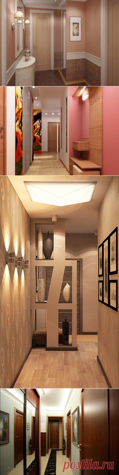 Идеи оформления стен в прихожей — Роскошь и уют