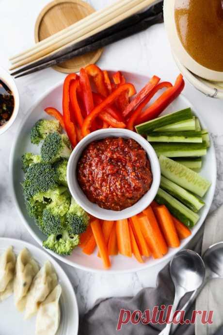 Острый корейский соус из фасоли Острый корейский соус из фасоли - пошаговый кулинарный рецепт приготовления с фото, шаг за шагом.