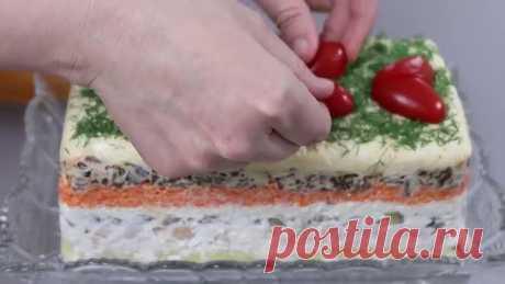 Королевский салат! Очень вкусный и простой в приготовлении