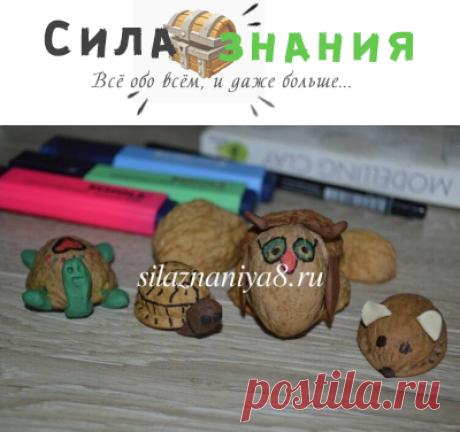 Поделки из ореховой скорлупы своими руками в детский сад (наши эксперименты)