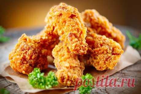Крылышки как в KFC: как приготовить в домашних условиях?