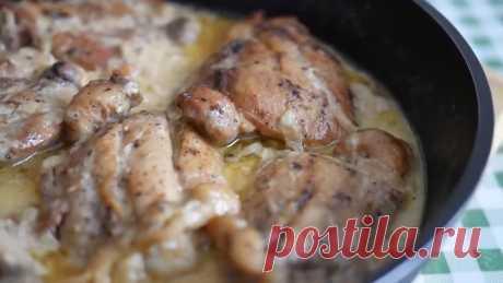 Самое вкусное ВТОРОЕ ИЗ КУРИЦЫ. Рецепт кавказской кухни.