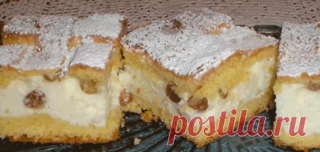 Простой, быстрый и вкусный творожный пирог с изюмом Читать далее...
