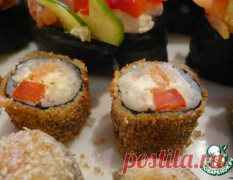 "Маки, суши и ролл ""Мозаика"" – кулинарный рецепт"