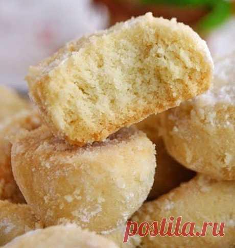 Печенье тающий снег — Sloosh – кулинарные рецепты