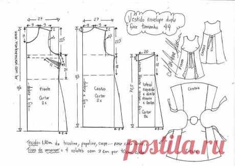 Такое платье скроет все недостатки (Шитье и крой) — Журнал Вдохновение Рукодельницы