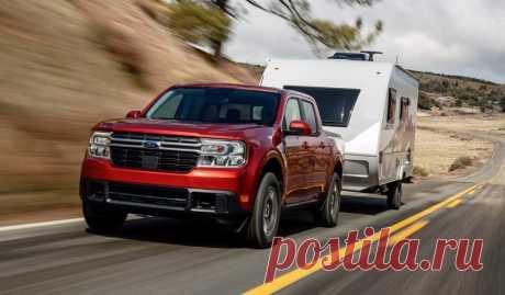 Ford Maverick 2022: интерьер, экстерьер, техника