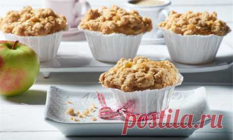 Ягодные маффины со штрейзелем – отличные маленькие кексики - На Кухне Для приготовления этого отличного лакомства можно использовать любые кисло-сладкие ягоды, такие как: черника, голубика, смородина, малина. Выбор зависит от вашего вкуса и доступности того или иного типа ягод....