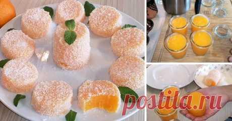 К НОВОГОДНЕМУ СТОЛУ! Апельсиновый (мандариновый) десерт