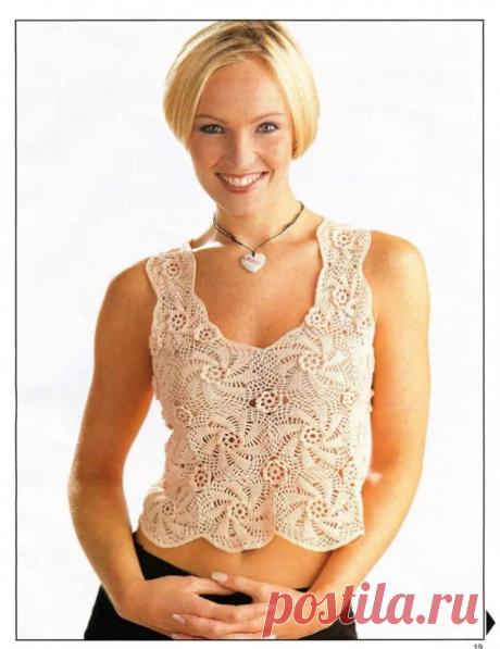 Летние ажуры для жаркого лета со схемами из журналов Magic crochet. | pro100stil | Яндекс Дзен
