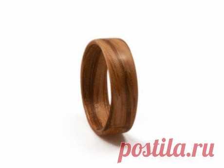 Деревянное кольцо в домашних условиях