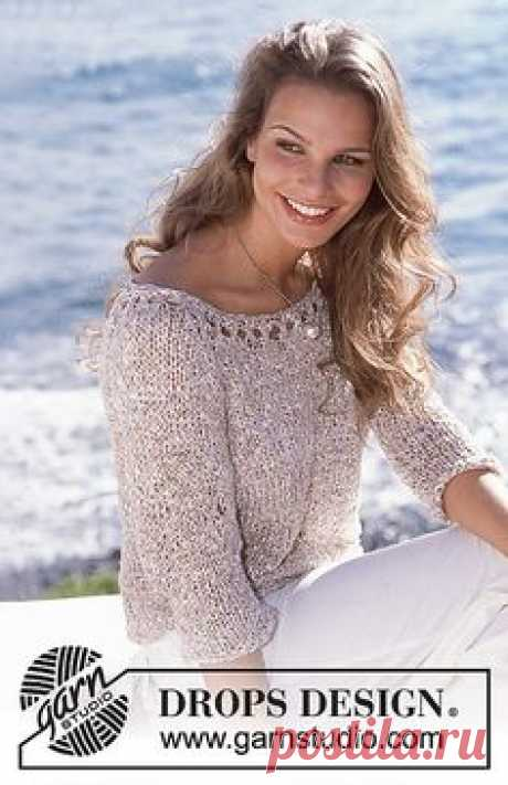 Ravelry: 81-26 a Pullover pattern by DROPS design