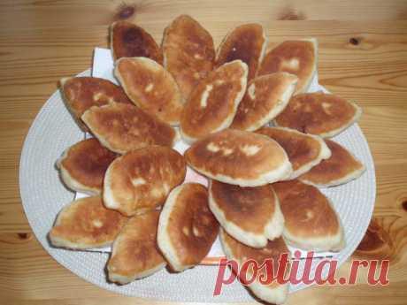 Жареные пирожки на кефире – пошаговый рецепт с фотографиями