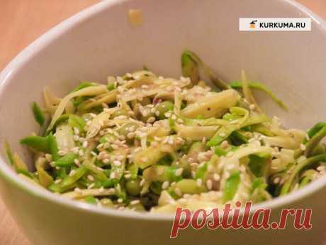 Салат из авокадо — Вегетарианские рецепты