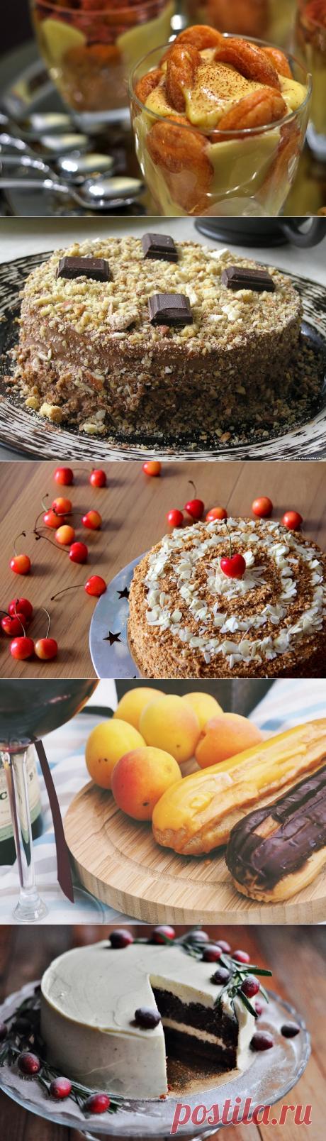 Лучшие кремы для тортов!