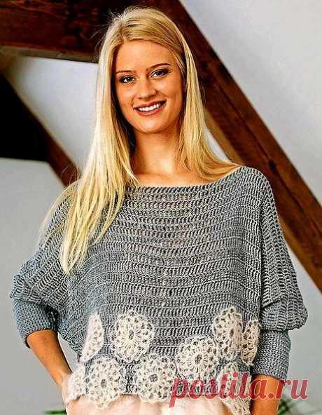 Осеннее настроение - несложные пуловеры крючком   Левреткоман-оч.умелец   Яндекс Дзен