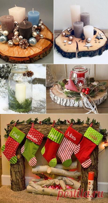 Новогодний декор своими руками: 125+ идей украшения дома к Новому году