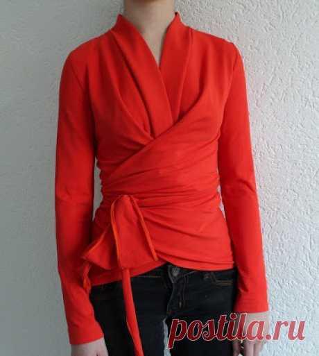 Выкройка драпирующегося кардигана 1963 (!) года DIY Модная одежда и дизайн интерьера своими руками