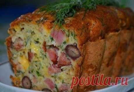 Мясной кекс | Кулинарный блог