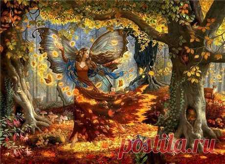 Схема вышивки «Осенняя сказка» - Вышивка крестом