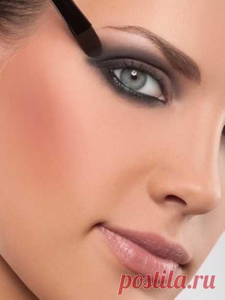 Техника нанесения теней / Все для женщины