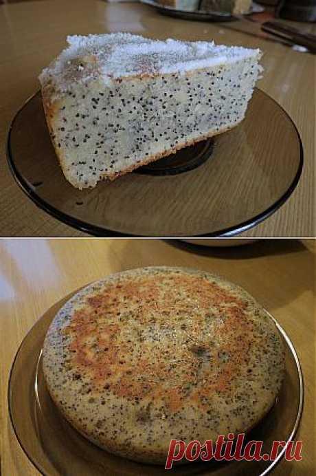 Маковый кекс в мультиварке. Рецепт приготовления с фотографиями.