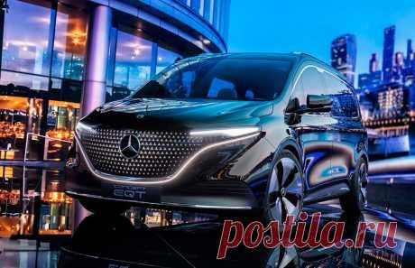 Mercedes EQT Concept 2022: техника, салон, экстерьер