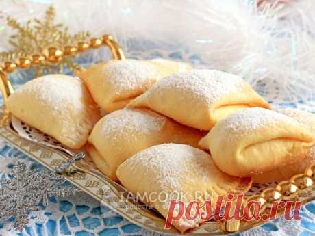 Печенье «Сугробы» — рецепт с фото Очень нежное и легкое печенье, прекрасное дополнение к чаю или кофе. А также печенье здорово впишется в новогоднее меню 2019.