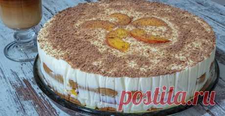 Самый модный торт без выпечки. Рецепт Тирамису! Очень вкусный тортик — НАСТОЯТЕЛЬНО РЕКОМЕНДУЮ попробовать. Продукты: Сметана — 500 г....