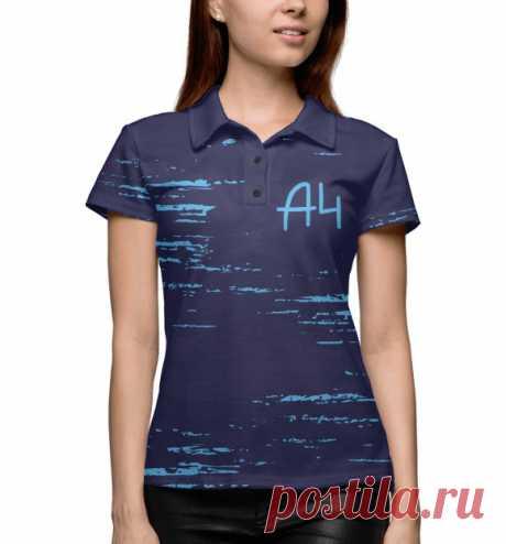 Мерч одежда А4 Влад бумага - поло молодёжное для девушки| Купить в интернет магазине| Доставка по России и СНГ|  Все размеры|  Скидки |  Сезон 2020/2021