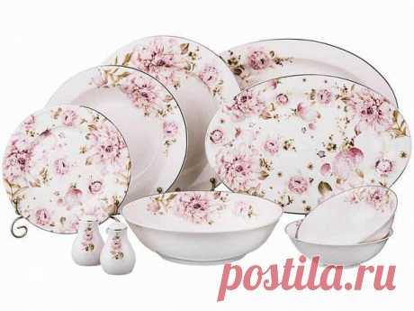 Купить Столовый сервиз на 6 персон Porcelain MnfF 115-277 - в интернет-магазине Terracotia.ru