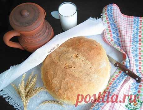 Хлеб постный на опаре – кулинарный рецепт