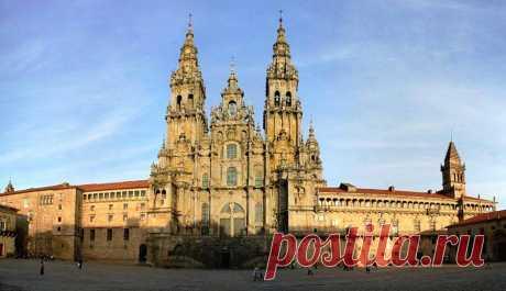 «Христианская Мекка» -город Сантьяго-де-Компостела.Испания.