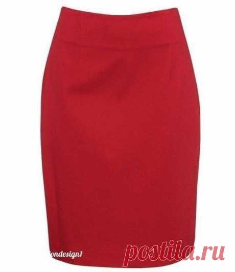 Выкройка простой прямой юбки (Шитье и крой) – Журнал Вдохновение Рукодельницы