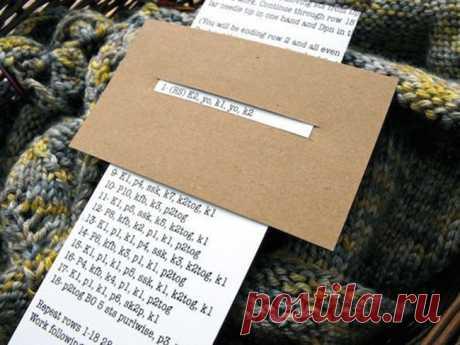 Еще лайфхак для вязания Модная одежда и дизайн интерьера своими руками