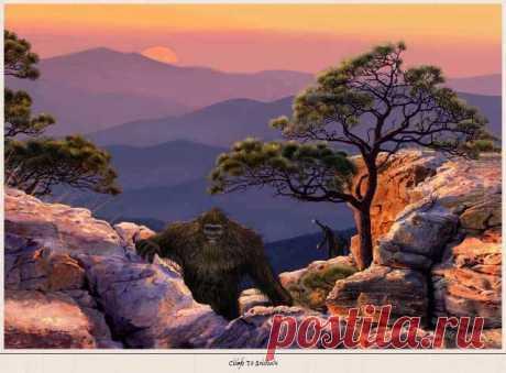 Sasquatch Art (Изображение JPEG, 640×472 пикселов)