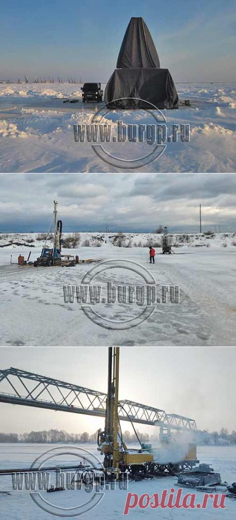 Бурение подводных скважин со льда для геологических изысканий. Полезные приемы