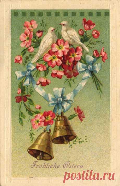 Gallery.ru / Фото #65 - Старинные открытки-2. Схем для вышивки нет! - MontanaBY