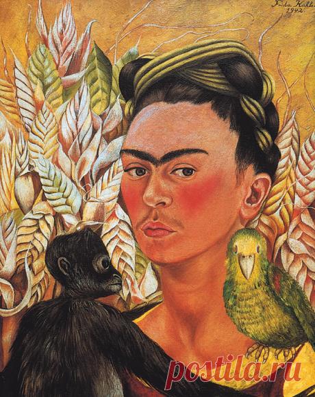 Любовь, искусство и попугаи: жизнь Фриды Кало в дневниках и фотографиях