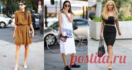 Стильные и модные платья – лучшие фасоны