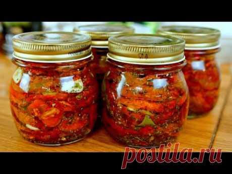 Вяленые томаты. Самый простой способ.