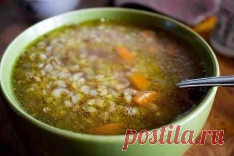 Гречневый суп — Мегаздоров