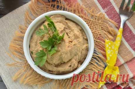 Паштет из говяжьей печени с морковью и луком: рецепт с фото