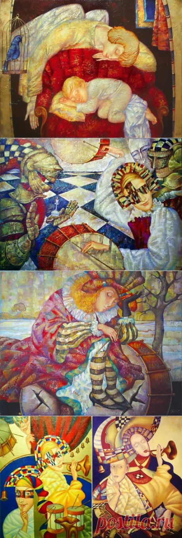 Фантазии художника Ольги Налетовой.1 часть.