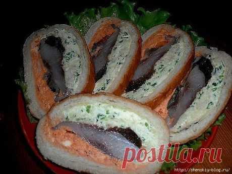 Оригинальный бутерброд с селедкой | Четыре вкуса